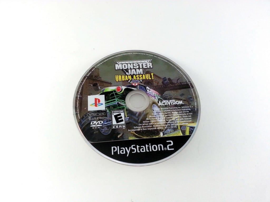 Monster Jam Urban Assault game for Sony Playstation 2 PS2 - Loose