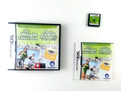 My Weight Loss Coach game for Nintendo DS -Complete