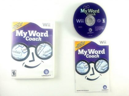 My Word Coach game for Nintendo Wii -Complete