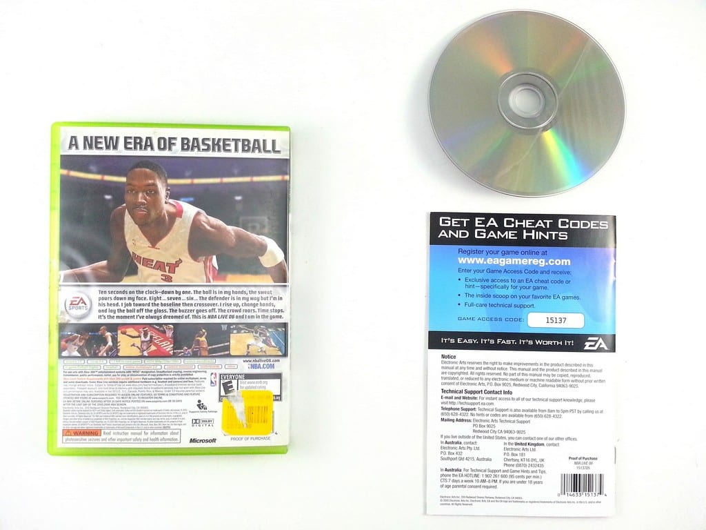 NBA Live 2006 game for Xbox 360 (Complete) | The Game Guy