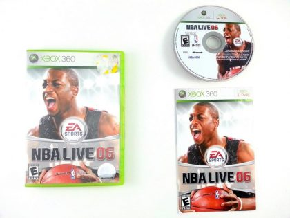 NBA Live 2006 game for Microsoft Xbox 360 -Complete