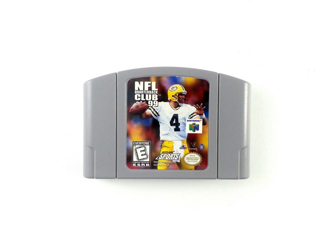 NFL Quarterback Club 99 game for Nintendo 64 N64 - Loose