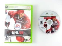 NHL 08 game for Microsoft Xbox 360 -Game & Case
