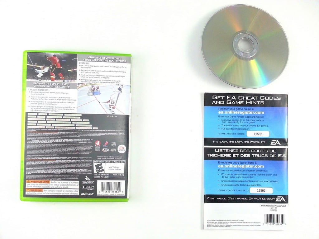 NHL 09 game for Xbox 360 (Complete) | The Game Guy