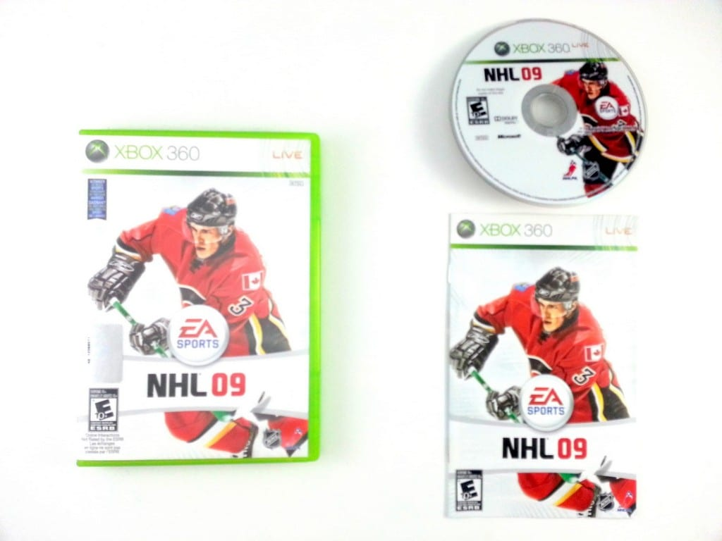 NHL 09 game for Microsoft Xbox 360 -Complete