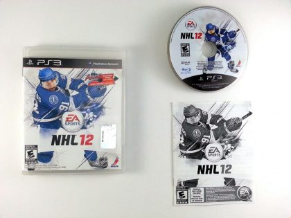 NHL 12 game for Sony Playstation 3 PS3 -Complete