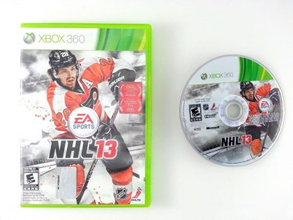 NHL 13 game for Microsoft Xbox 360 -Game & Case