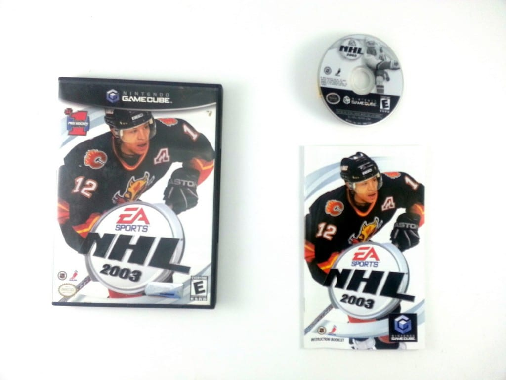 NHL 2003 game for Nintendo Gamecube -Complete
