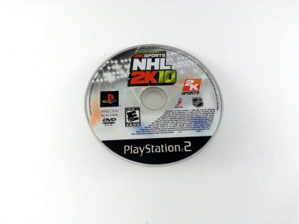 NHL 2K10 game for Sony Playstation 2 PS2 - Loose