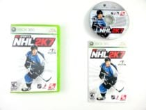 NHL 2K7 game for Microsoft Xbox 360 -Complete