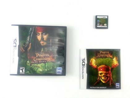 Pirates of the Caribbean Dead Mans Chest game for Nintendo DS -Complete