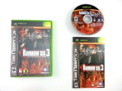 Rainbow Six 3 game for Microsoft Xbox -Complete