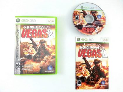 Rainbow Six Vegas 2 game for Microsoft Xbox 360 -Complete