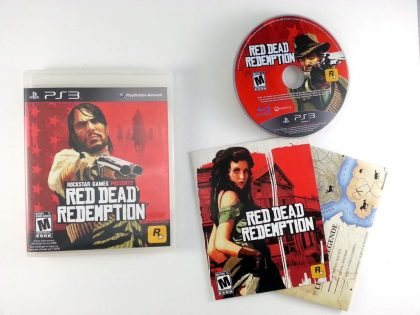 Red Dead Redemption game for Sony Playstation 3 PS3 -Complete