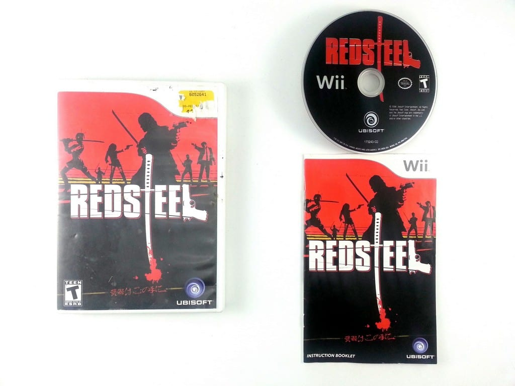 Red Steel game for Nintendo Wii -Complete