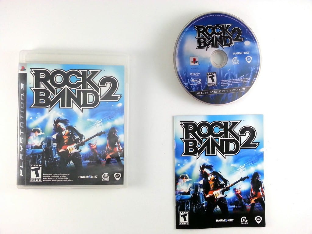 Games For Ps3 Only : Rock band game only for playstation complete