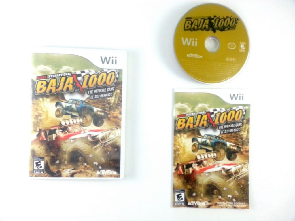 SCORE International Baja 1000 game for Nintendo Wii -Complete