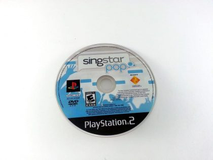 Singstar Pop game for Sony Playstation 2 PS2 - Loose