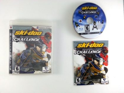 Ski-Doo Snowmobile Challenge game for Sony Playstation 3 PS3 -Complete