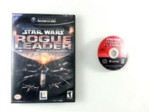 Star Wars Rogue Leader game for Nintendo Gamecube -Game & Case