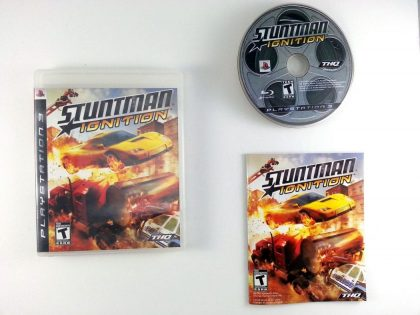Stuntman Ignition game for Sony Playstation 3 PS3 -Complete