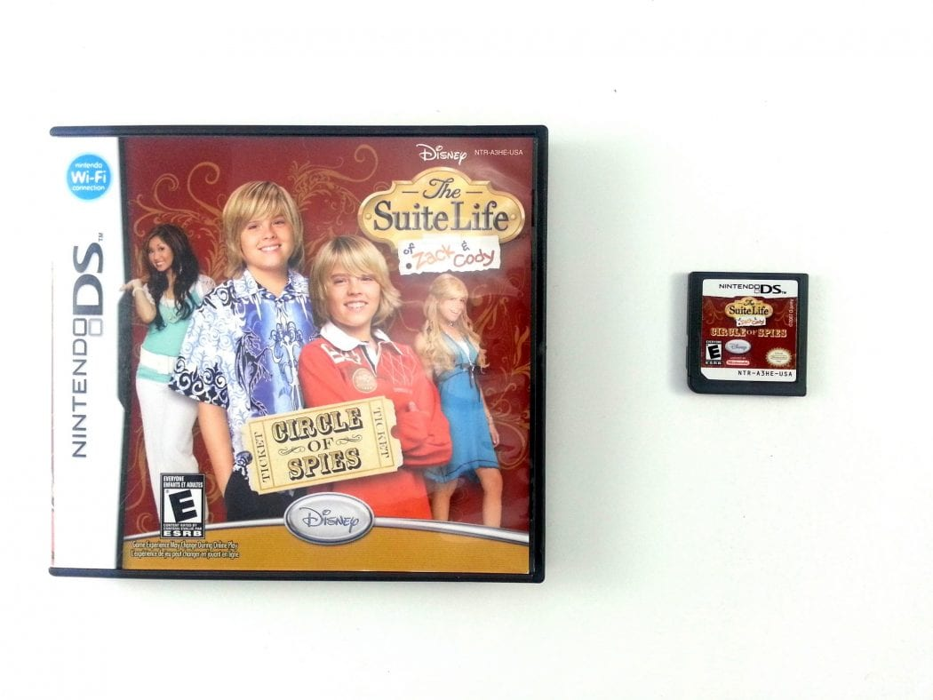 Suite Life Of Zack and Cody Circle of Spies game for Nintendo DS -Game & Case