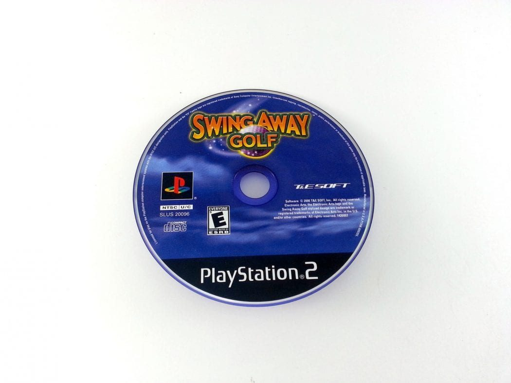Swing Away game for Sony Playstation 2 PS2 - Loose