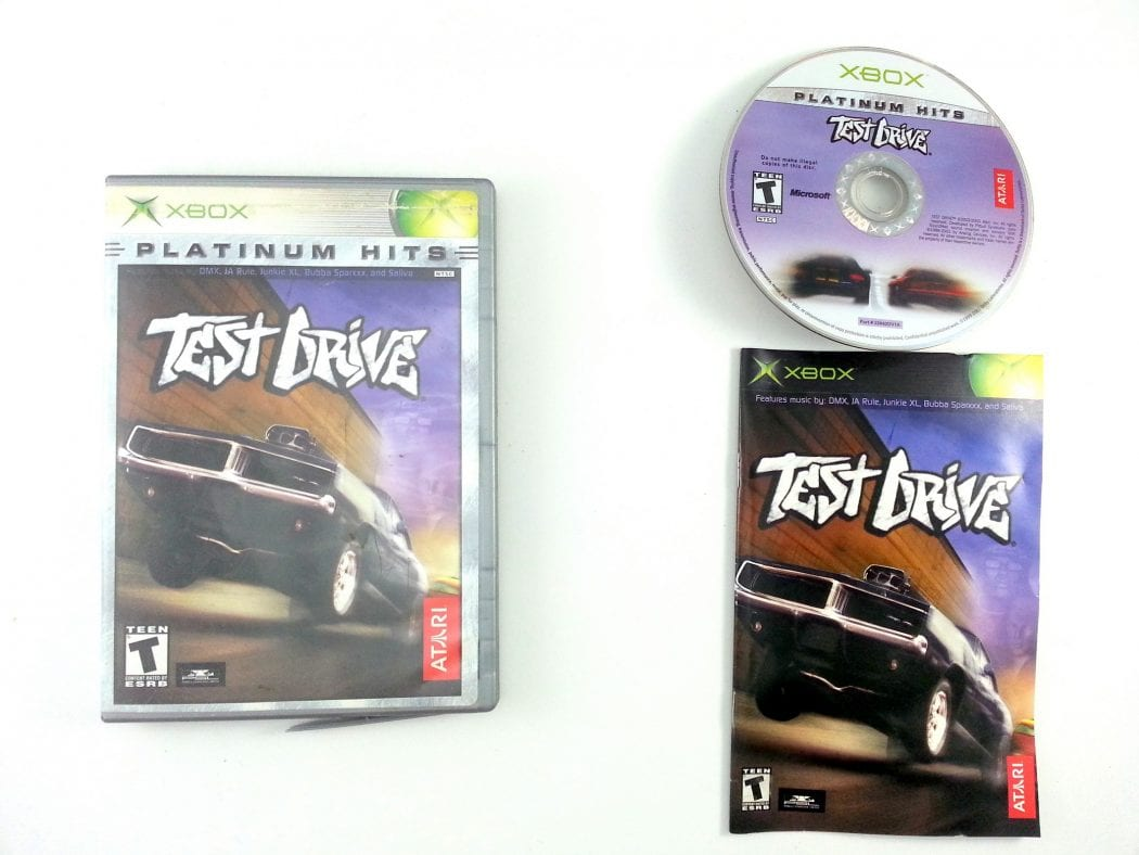 Test Drive game for Microsoft Xbox -Complete