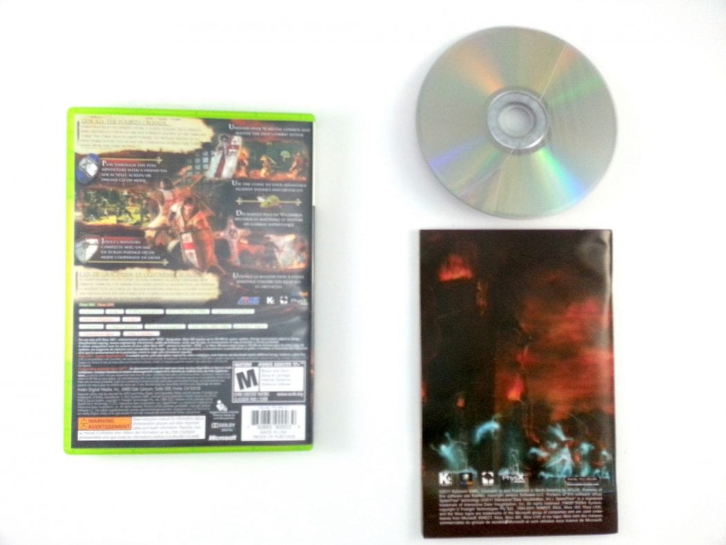 The Cursed Crusade game for Xbox 360 (Complete)   The Game Guy