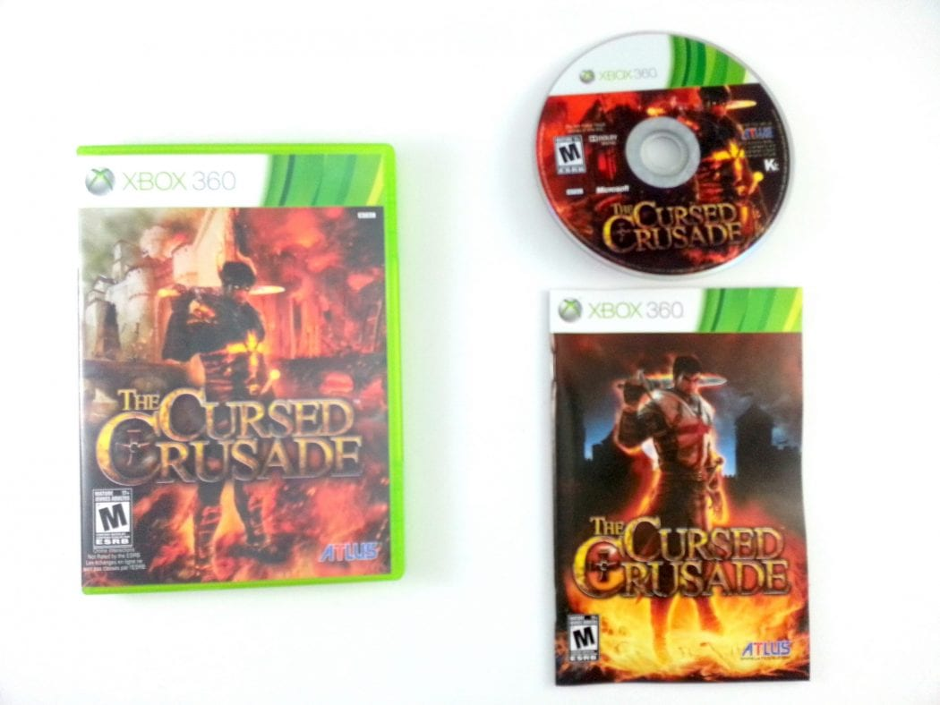 The Cursed Crusade game for Microsoft Xbox 360 -Complete