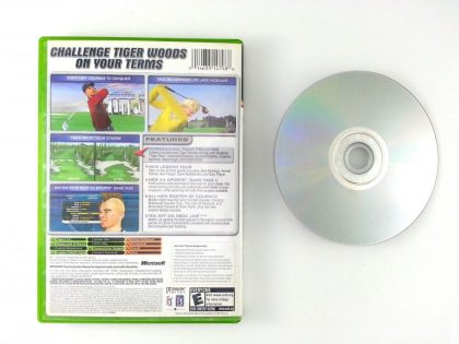 Tiger Woods 2005 game for Xbox | The Game Guy