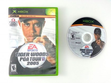 Tiger Woods 2005 game for Microsoft Xbox -Game & Case