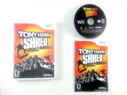Tony Hawk: Shred game for Nintendo Wii -Complete