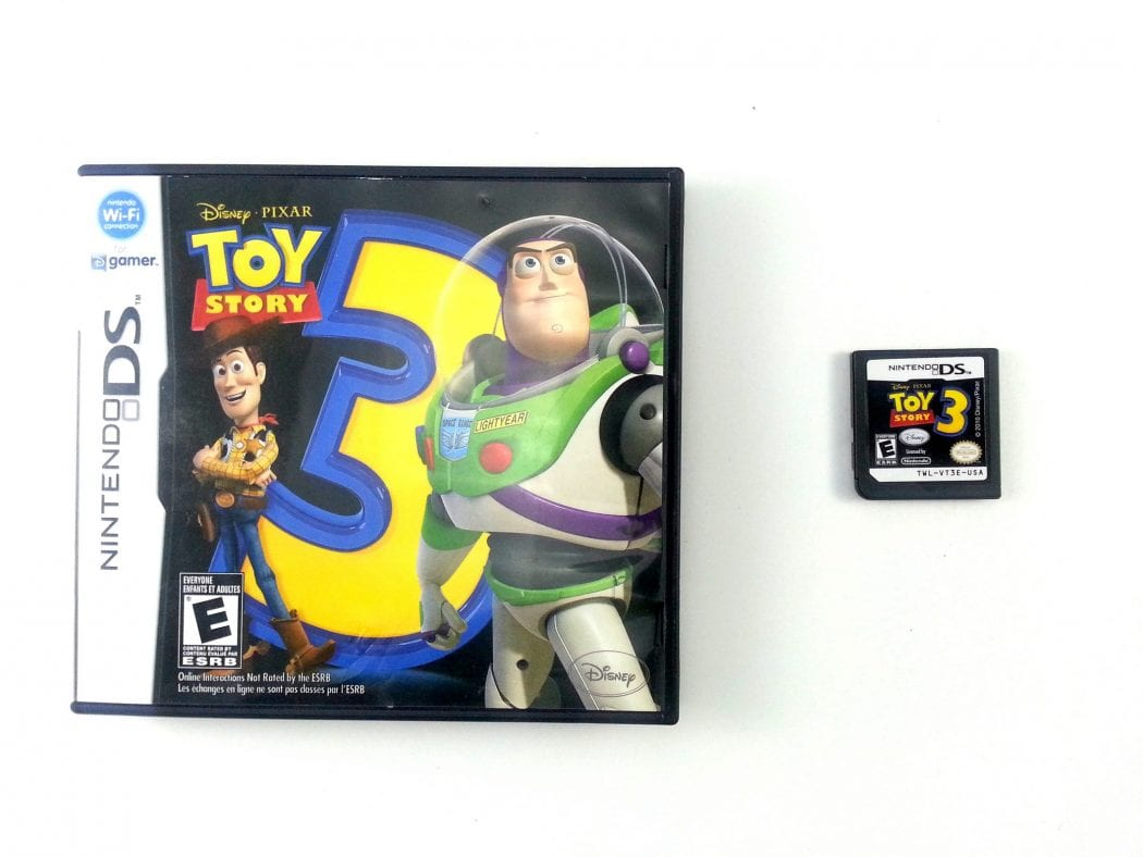 Case Of Toy Story Games : Toy story the video game for nintendo ds
