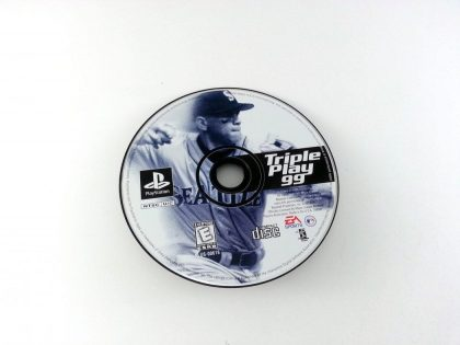 Triple Play 99 game for Sony Playstation PS1 PSX - Loose
