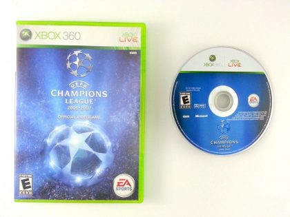 UEFA Champions League 2006-2007 game for Microsoft Xbox 360 -Game & Case