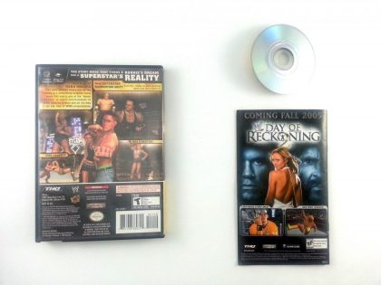 WWE Day of Reckoning game for Gamecube (Complete) | The Game Guy