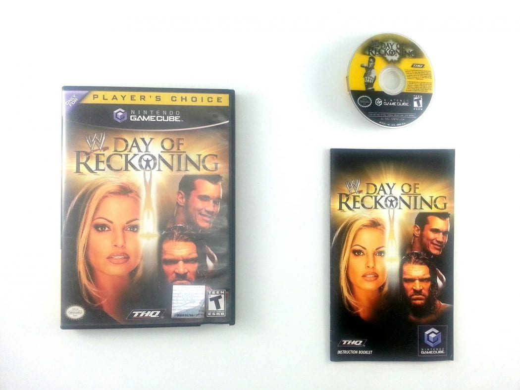 WWE Day of Reckoning game for Nintendo Gamecube -Complete