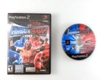 WWE Smackdown vs. Raw 2007 game for Sony Playstation 2 PS2 -Game & Case