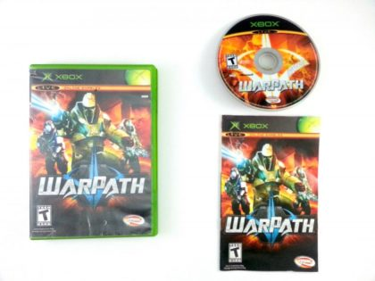 WarPath game for Microsoft Xbox -Complete
