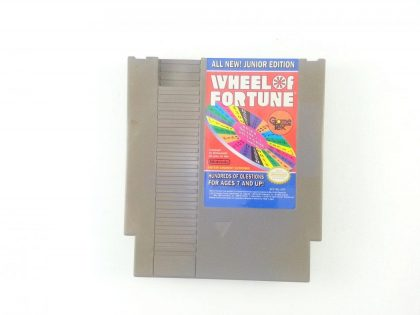 Wheel of Fortune Junior Edition game for Nintendo NES - Loose