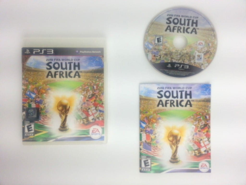 2010 FIFA World Cup game for Sony Playstation 3 PS3 -Complete