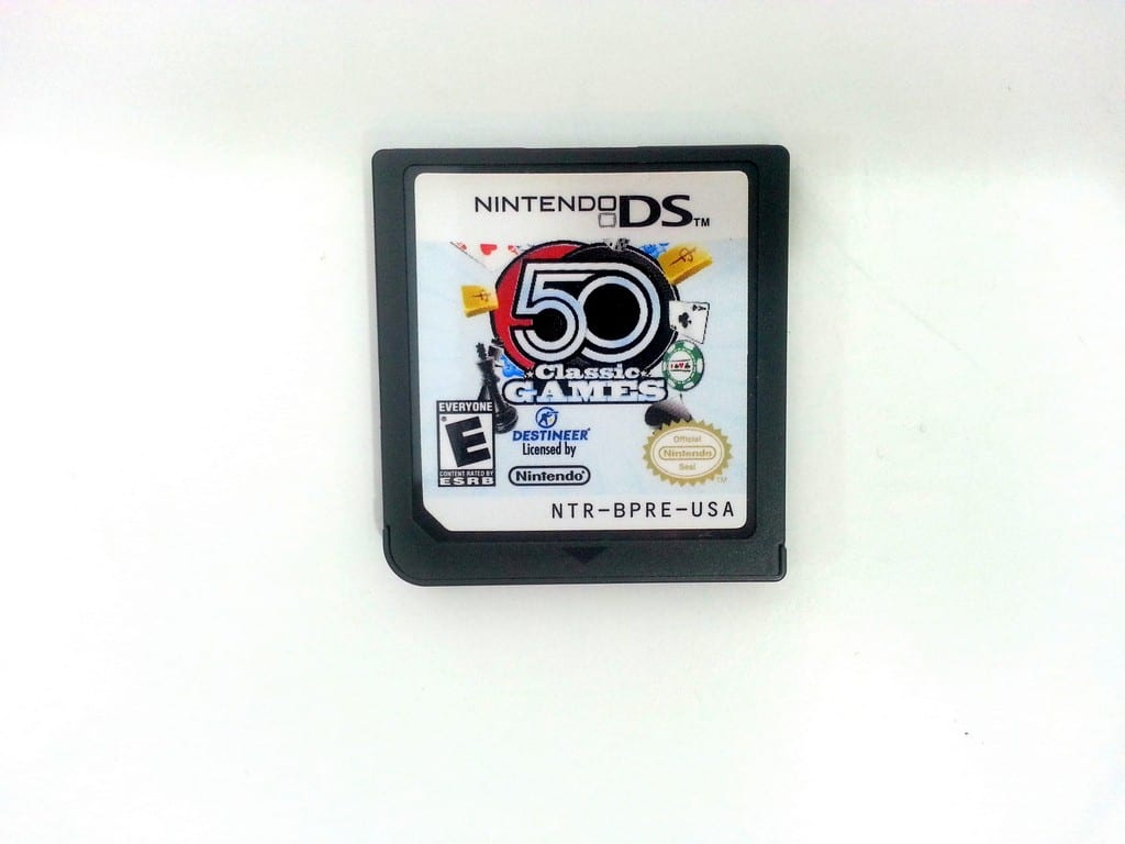 50 Classic Games game for Nintendo DS - Loose