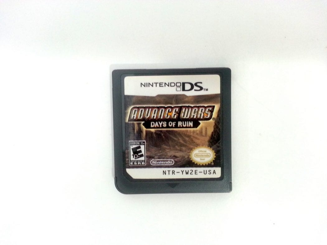 Advance Wars Days of Ruin game for Nintendo DS - Loose