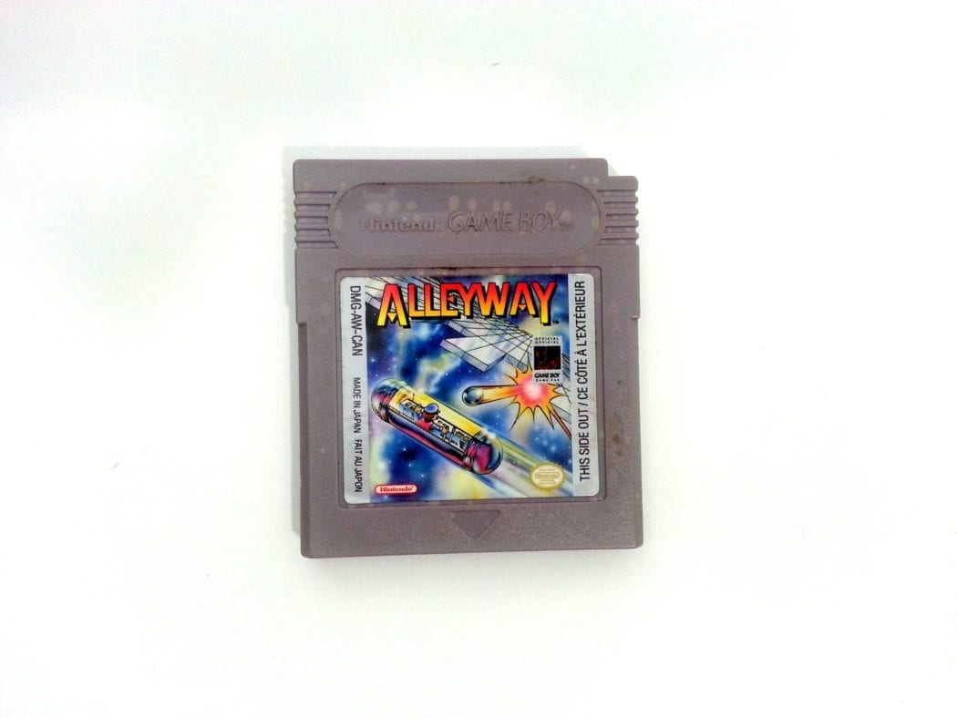 Alleyway game for Nintendo GameBoy - Loose