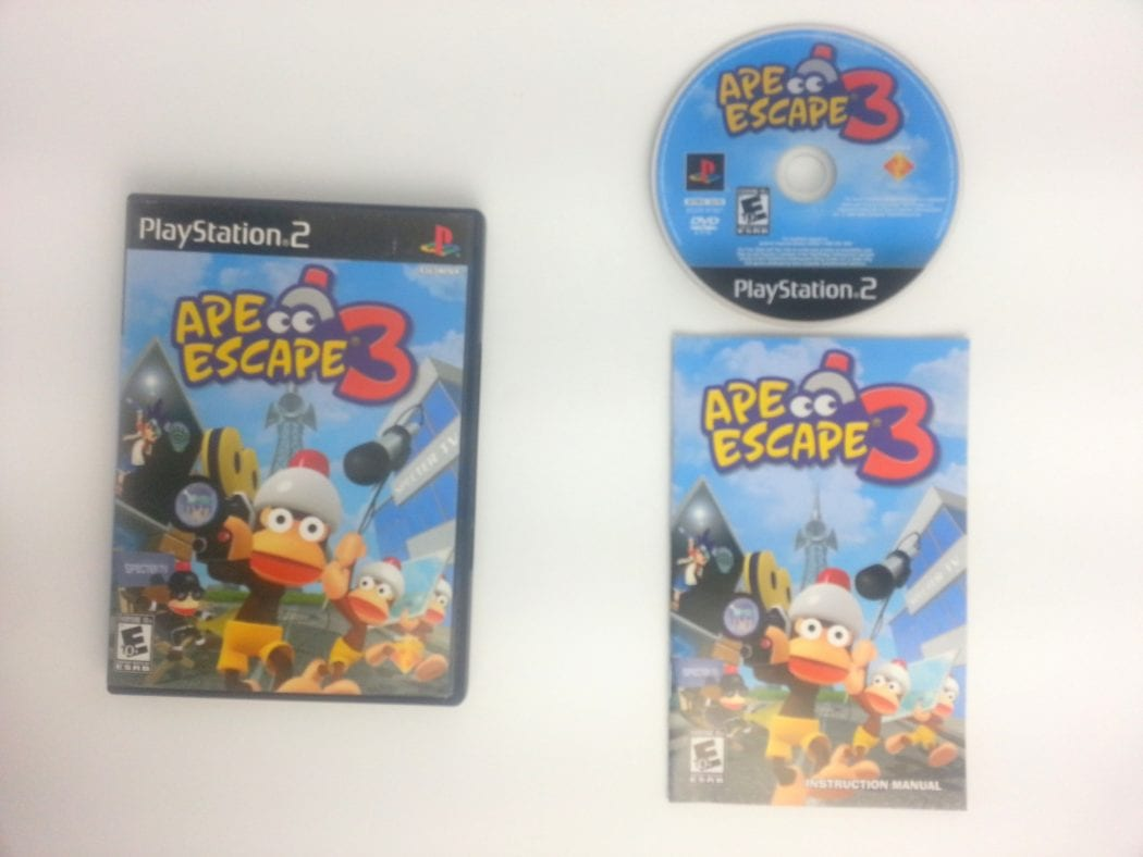 Ape Escape 3 game for Sony Playstation 2 PS2 -Complete