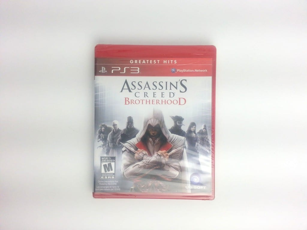 Assassin's Creed: Brotherhood game for Sony Playstation 3 PS3 - New