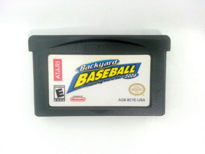 Backyard Baseball 2006 game for Nintendo Gameboy Advance - Loose