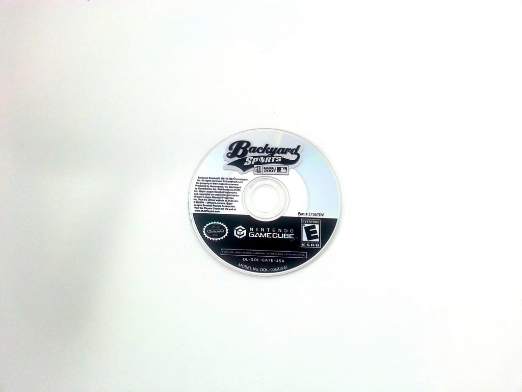 Backyard Baseball 2007 game for Nintendo Gamecube - Loose