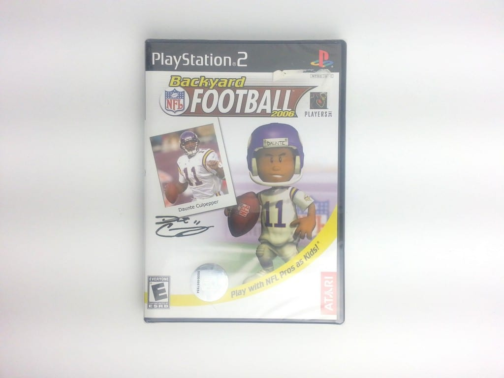 Backyard Football game for Sony Playstation 2 PS2 - New